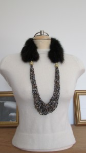 Collier Recyc-Chic vintage
