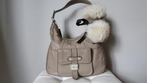 Accessoire en renard pour un sac ou en bracelet