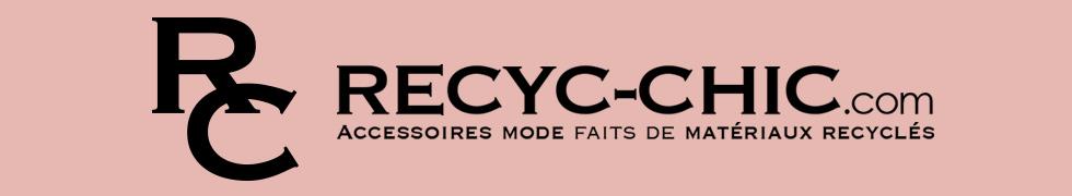 Recyc-Chic | Vintage, mode éthique Accessoires mode faits de matériaux recyclés | Terrebonne, Montréal, Québec
